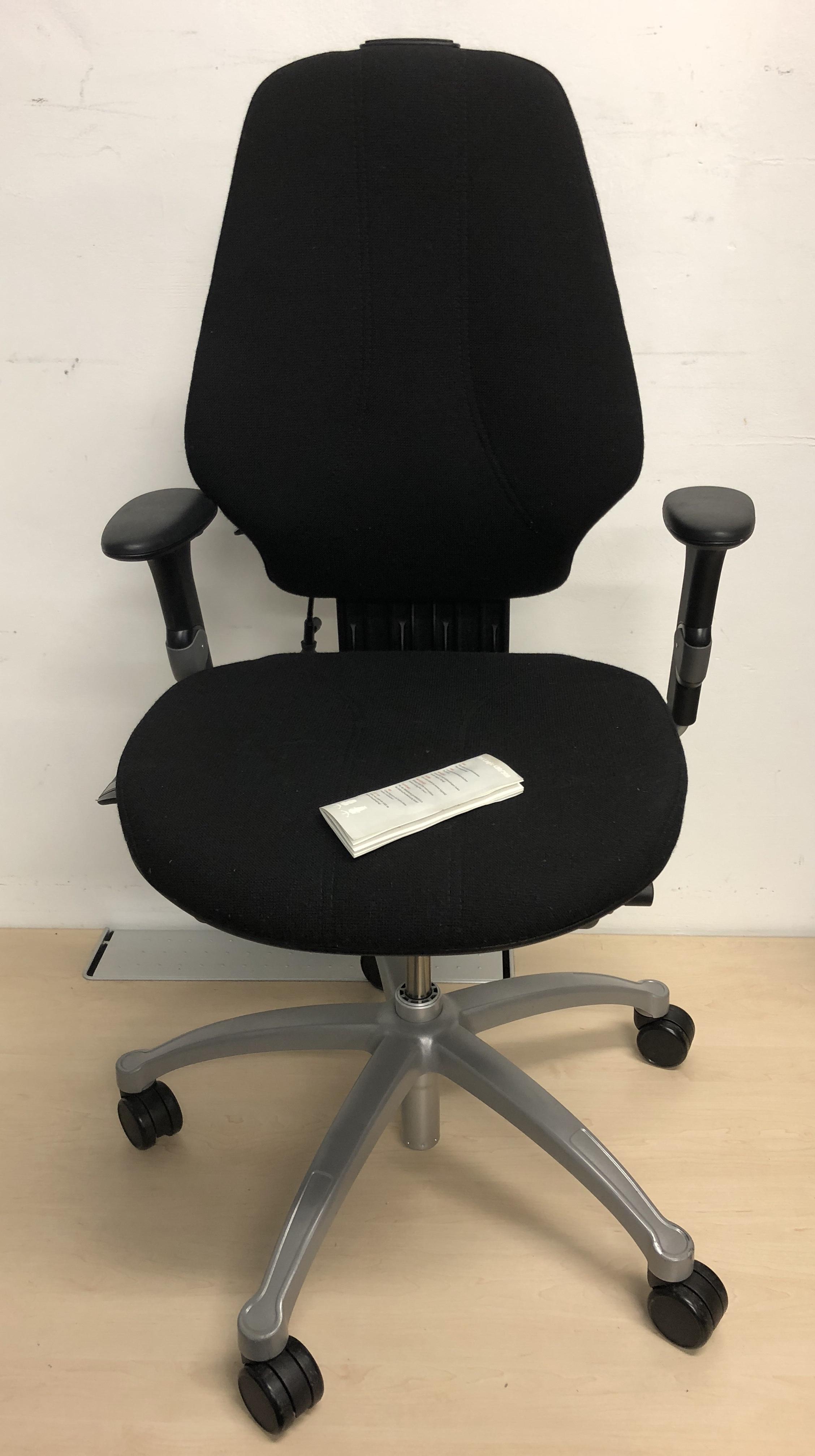 Rh Logic 300 Ergonomic Orthopaedic Office Chair